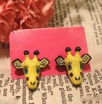 Cute Giraffe Studs - £3.83 GBP