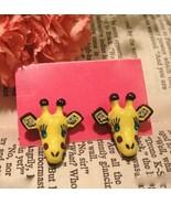 Cute Giraffe Studs - $4.99