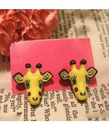 Cute Giraffe Studs - £3.79 GBP