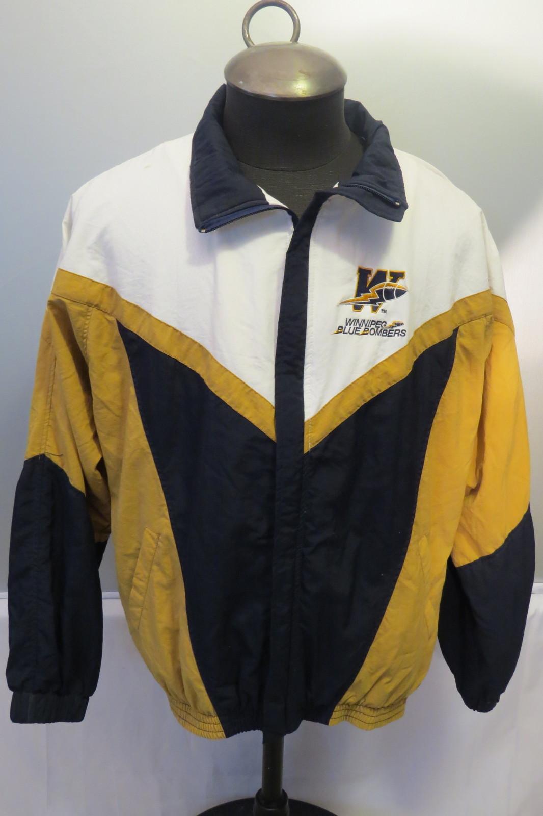 Winnipeg Blue Bombers Jacket (VTG) - Men's Zip Up by Pace Setter - Men's Large - $95.00