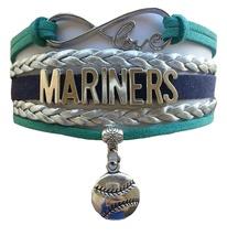 Seattle Mariners Baseball Fan Shop Infinity Bracelet Jewelry - $11.99