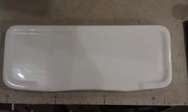 "9V91 Toilet Lid, Unknown Brand, 20"" X 8-1/8"", White, Chipped On Fr Corner, Crack - $19.66"