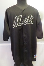 New York Mets 2000 World Series Black Edition MLB Russell Athletic Jerse... - $125.00