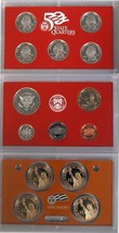 2008-S 90% Silver Proof Set United States Mint Original Government Packaging Box image 2