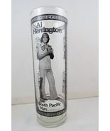 Hawaiian Cocktail Glass (VTG) -Al Harrington Polynesian Man-Cinerama Ree... - $35.00