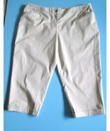 Stretch Capris Size 24W New With Tags Light Tan... - $24.00