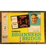 Charles Goren's Beginners Bridge - Teaching Card Game Tutor Milton Bradl... - $11.87