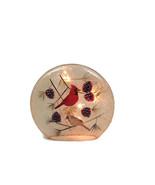 Stony Creek Glass Round Giant  - Cardinal & Pin... - $37.40