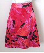 Lane Bryant Skirt Size 28 Cotton Stretch Pink ... - $24.00