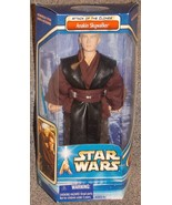 2002 Star Wars Attack Of The Clones Anakin Skywalker 12 inch Figure New ... - $29.99