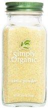 Simply Organic, Garlic Powder, 3.64 oz - $11.39