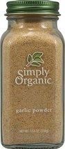 Simply Organic Garlic Powder -- 3.64 oz - 2 pc - $20.89