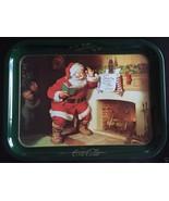 1970's Coca Cola Santa Please Pause Here Vintage Tray - $12.00