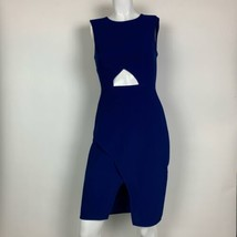 BCBG Maxazria Dress Blue Annabel cut out cocktail Sz 2 - $49.99
