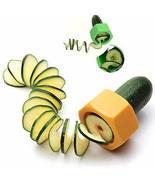 Cucumber Novelty Peeler Vegetable Slicer Fruit Kitchen Tool Cooking - $9.69