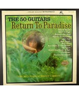TOMMY GARRETT The 50 GUITARS Return to Paradise LP Liberty Series  LSS-1... - $3.95
