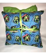 TMNT Pillow And Blanket Teenage Mutant Ninja Turtle Wall Pillow and Blan... - $19.99