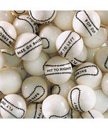 Dubble Bubble Baseball 24mm Gumballs 1 Inch, 3 Pounds Approximately 165 ... - $17.82