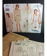 Vogue American Designer Sewing Pattern 1635 Calvin Klein Sz 6 8 10 Misses - $7.21