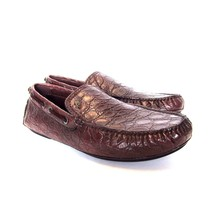 BRIONI NEUF 10 marked 11 BRUN ALLIGATOR BIARRITZ 3846400 l Mocassins us wvqEpp