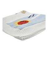 Dolce & Gabbana Soft Mimmo The Dog Couverture bébé de luxe combiné blanc... - $484.10