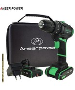 ANEERPOWER® 21V New Style Impact Drill Electric Screwdriver Electric Han... - $113.04+