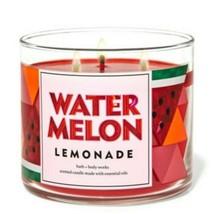 Bath & Body Works Watermelon Lemonade 3 Wick Scented Candle 14.5 oz - $27.10