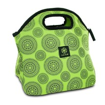 Lunch Bag For Men, Green Marrakesh Insulated Reusable Tote Lunch Bag For... - $15.99