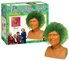 Chia Pet Golden Girls-Rose Decorative Pottery Planter, Easy to Do and Fun to Gro - $27.99