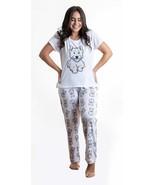 Dog Westie pajama set with pants for women Westhighland - $35.00