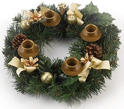 Traditional Pine Cone Advent Wreath image 6