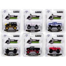 Just Trucks Set of 6 Trucks Series 22 1/64 Diecast Model Cars by Jada 14... - $49.97