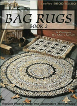 Bag Rugs Book 2 Crochet Rugs from Plastic Bags Leisure Arts 2800 - $8.00