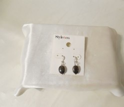 """Charter Club 3/4"""" Gold Tone Simulated Abalone Clip On Earrings C860 - $10.55"""