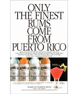 Puerto Rican Ronrico Rum 1997 AD Silver Gold or Spiced Rum Bottle Labels... - $10.99