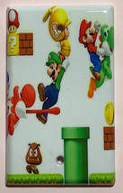 Super Mario brothers 3D Light Switch Duplex Outlet Wall Cover Plate home decor image 3
