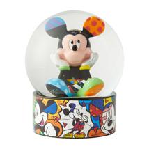 "5.12"" Disney Britto Waterball Globe w Mickey Mouse Figurine image 1"