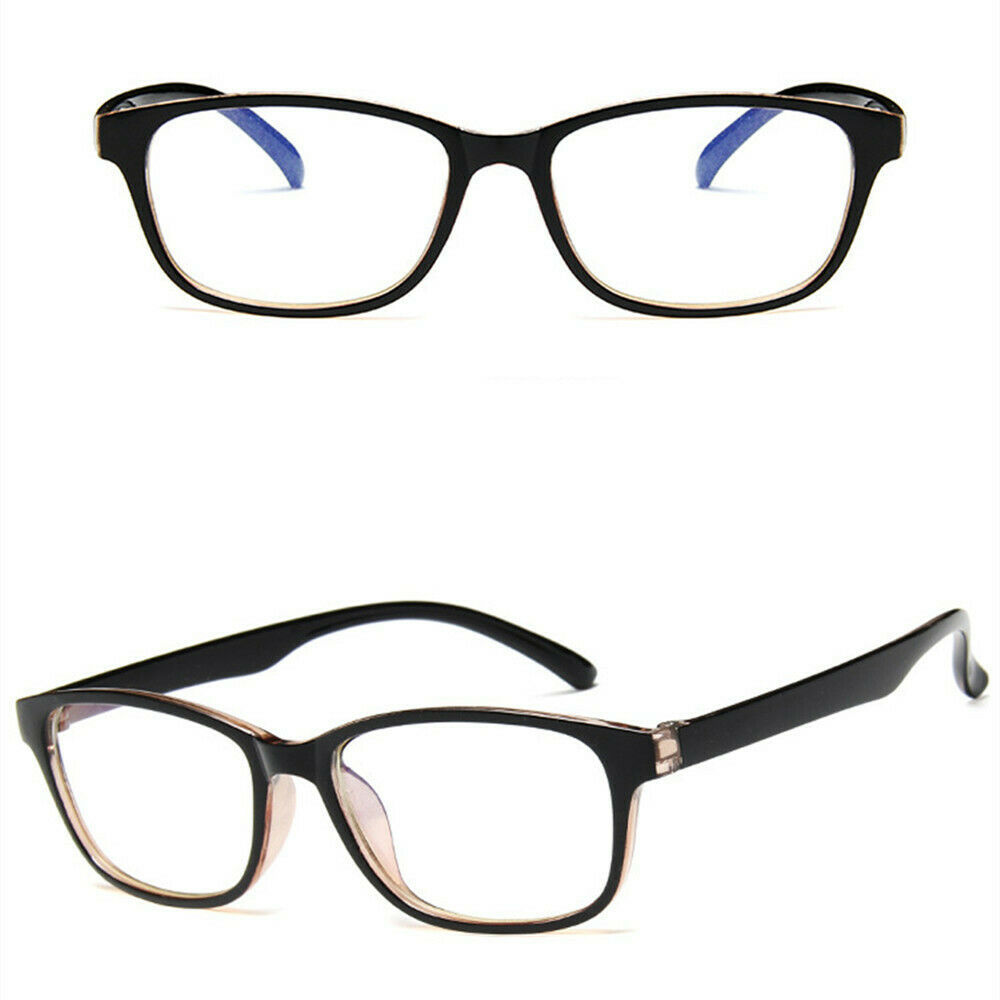 New Fashion Nerd Style Clear Lens Glasses Frame Retro Casual Daily Eyewear image 5