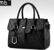 Medium Leather Women Shoulder Bags Fashion New Tote Bags V180-1 - $38.99