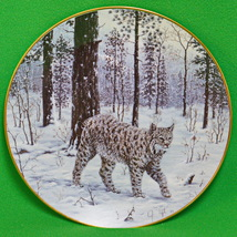 """1995 """"The Call of the North"""" Series Collector Plate, """"Mountain Explorer"""" - $4.95"""