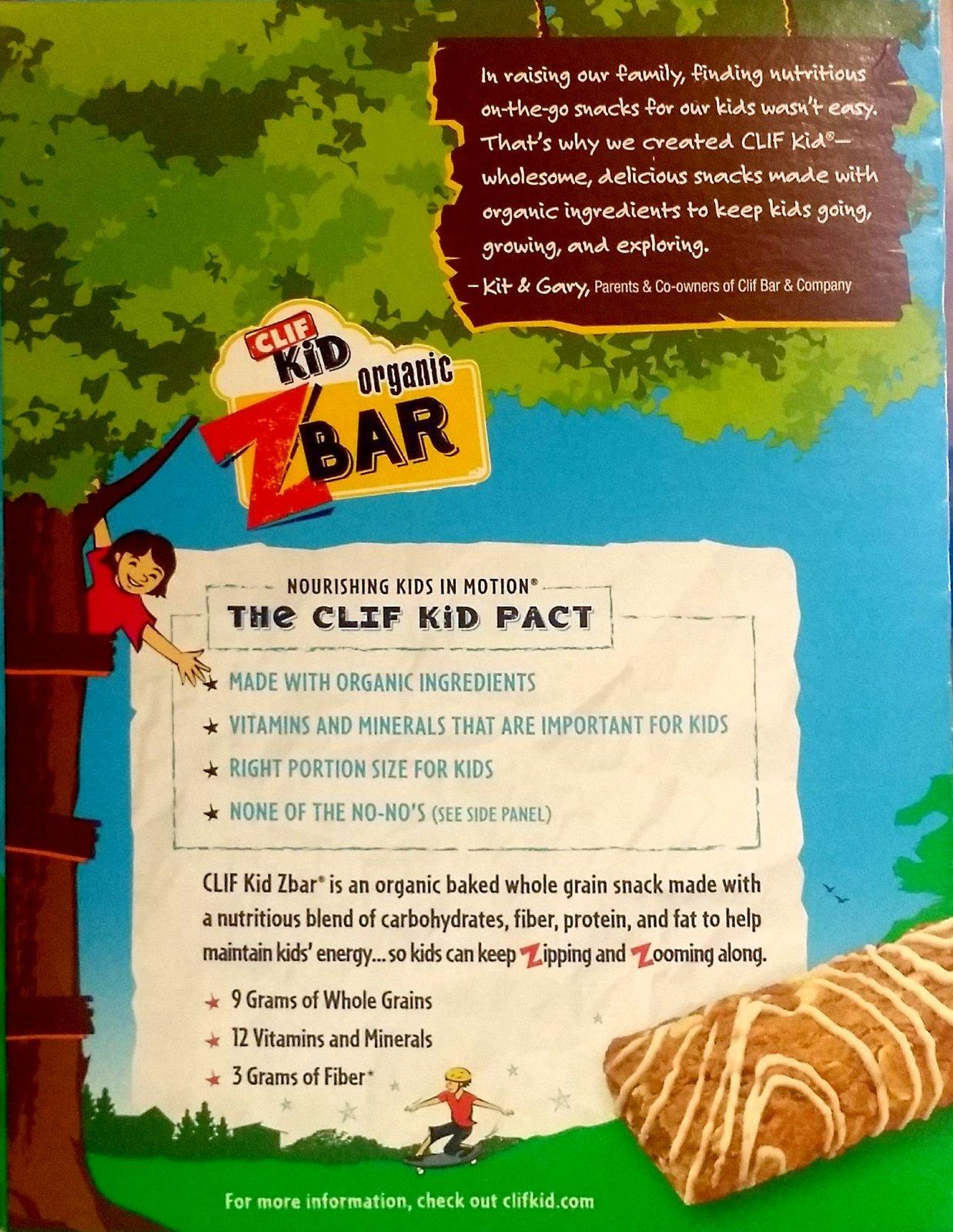 Clif Kid Zbar - Organic Energy Bar - Iced and 19 similar items