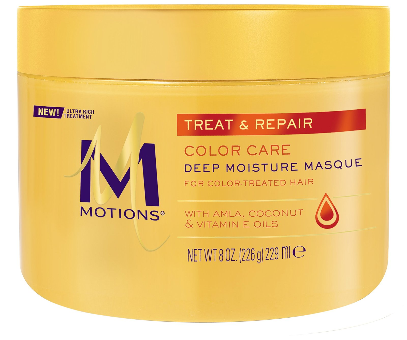 Motions Treat and Repair Deep Moisture Masque, Color Care 8 oz