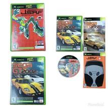 Xbox Sega GT 2002 & Jet Set Radio Future GSRF Rated E/T 2 Games With Manual - $51.99