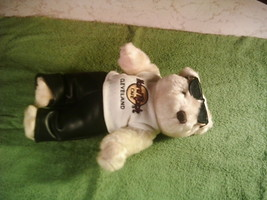 "Vintage Hard Rock Cafe Cleveland Collectible Bear 10"" - $25.00"