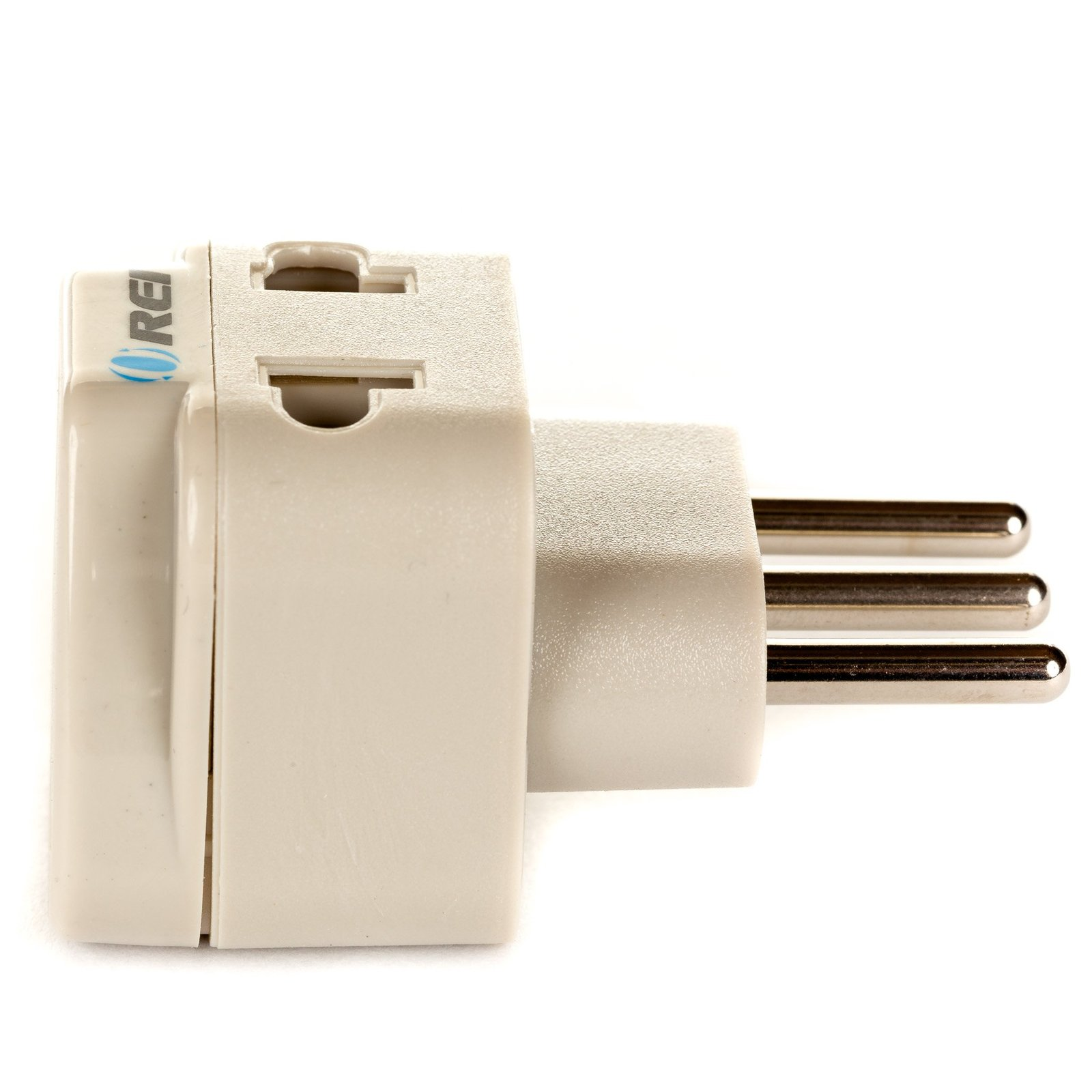 OREI Grounded Universal 2 in 1 Plug Adapter Type L for Italy, Uruguay & more ... image 4