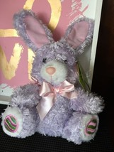Purple Easter Bunny Plush Nwt - $9.00
