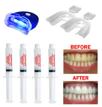 Complete Teeth Whitening Kit At Home System 44% Extreme Gel Syringe Made... - $11.45