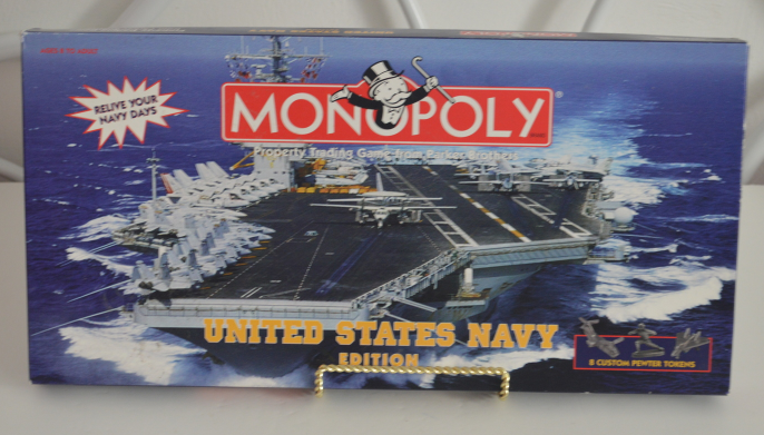 Primary image for Monopoly United States Navy Edition