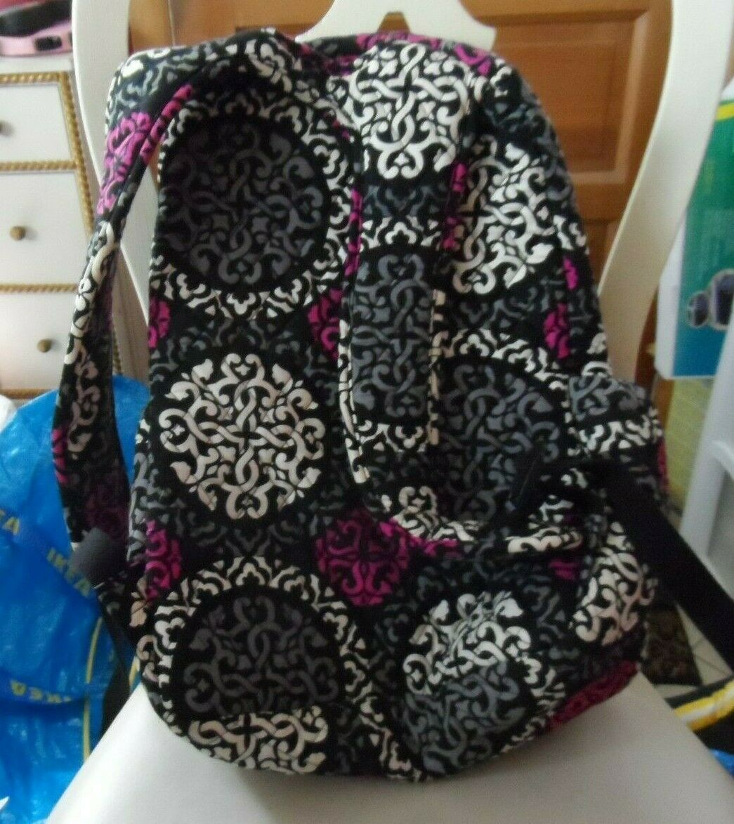 Vera Bradley Backpack baby bag in Canterberry Magenta image 2