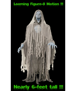Life Size Animated EVIL ENTITY GHOST REAPER ZOM... - $149.97